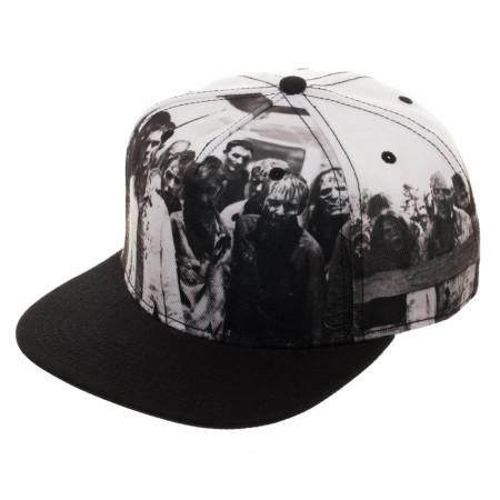Walking Dead Snapback Hat